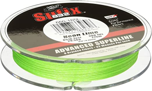 Neon Lime 120m Geflochtene Angelschnur Sufix 832 Advanced Superline