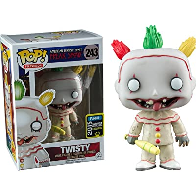 Funko POP TV: American Horror Story- Season 4 - Twisty the Clown Vinyl Figure 2015 Summer Convention Exclusive: Toys & Games