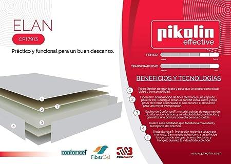 Pikolin - Colchón elan pikolin, medidas 150x200