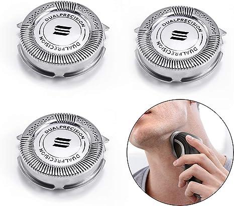 QiLiluck HQ8 - Cabezales de afeitado HQ8 para afeitadoras ...