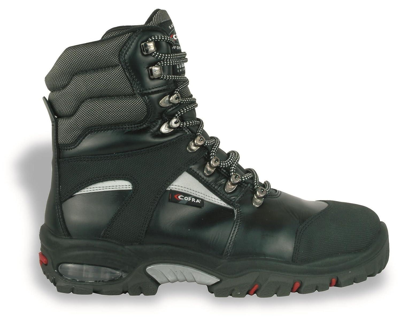 Cofra Winter 25312-001, Sicherheitsstiefel S3 Bering BIS 25312-001, Winter warm gefütterte, isolierte Arbeitsstiefel, Größe 44, schwarz, 25312-001 - 07dc05