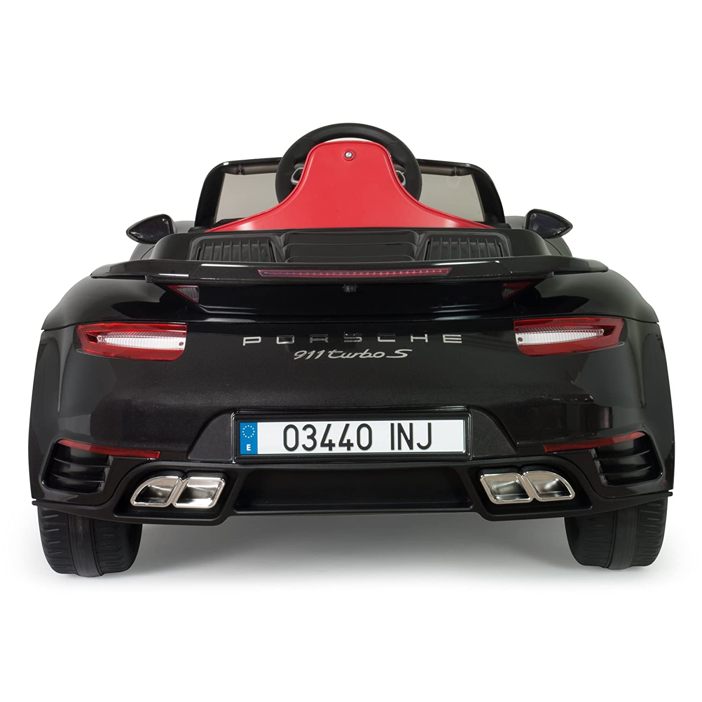 Amazon.com: Porsche Licensed 911 12V Turbo S Special Edition Black - Injusa: Sports & Outdoors