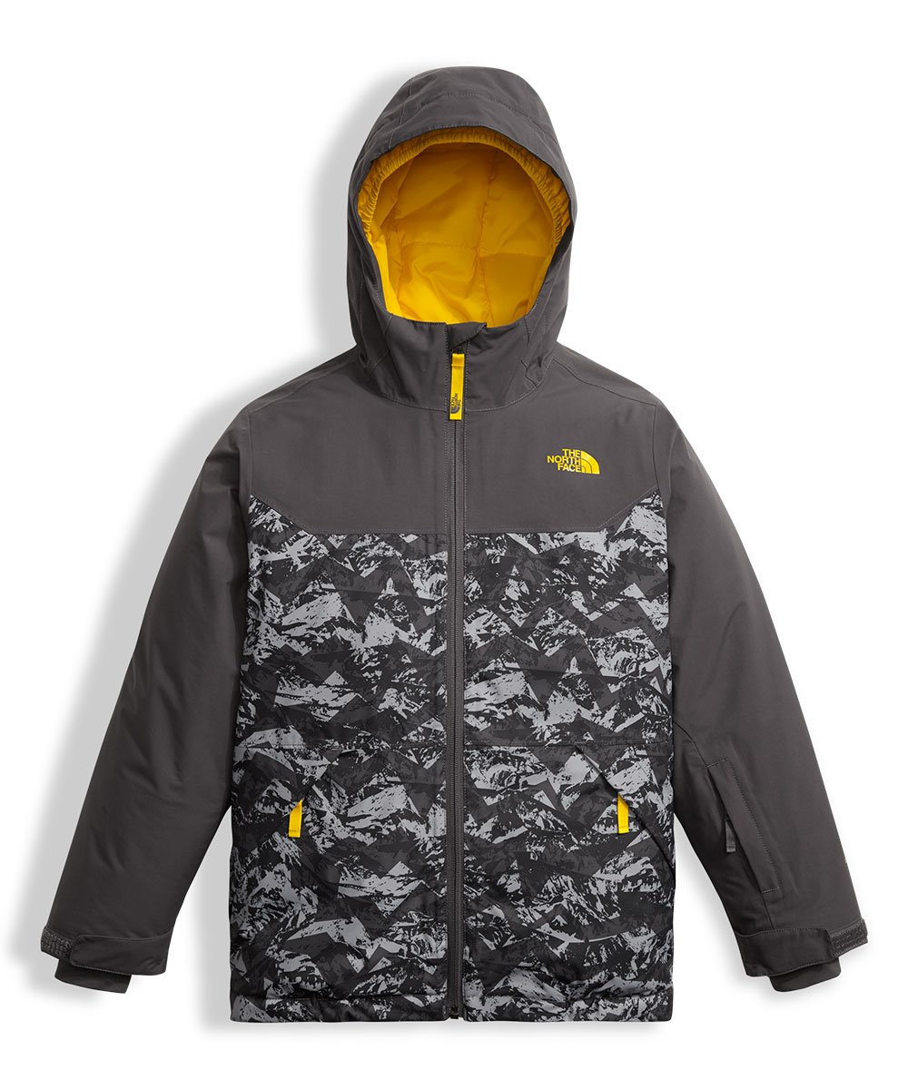 The North Face Big Boys' Brayden Insulated Jacket - graphite grey, l/14-16 by The North Face (Image #1)