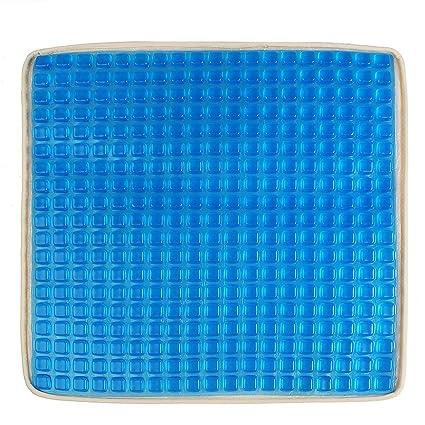 JenNiFer Blue Car Big Square Cooling Seat Gel Cojín ...