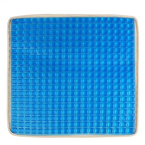 Wooya Coche Azul Big Square Cooling Asiento Cojín Gel ...