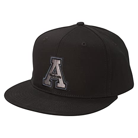 Ouray Sportswear NCAA Appalachian State Mountaineers Mile High 5280 Flat  Brim Snap Back Cap 0fe9927cd1f