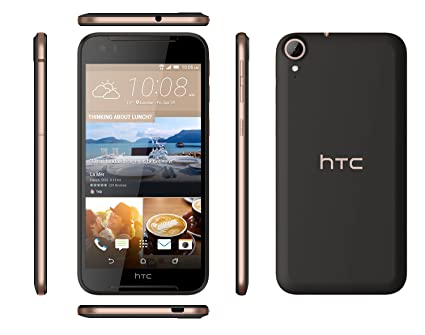 HTC Desire 830 Dual Sim - Black Gold Smartphones at amazon
