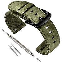 Vinband Cinturini Orologi Alta qualità Nylon Orologi Bracciale - 18mm, 20mm, 22mm, 24mm Cinturino Orologio Addensare Dell'acciaio Inossidabile