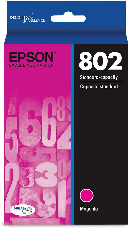 Epson T802320 DURABrite Ultra Magenta Standard Capacity Cartridge Ink
