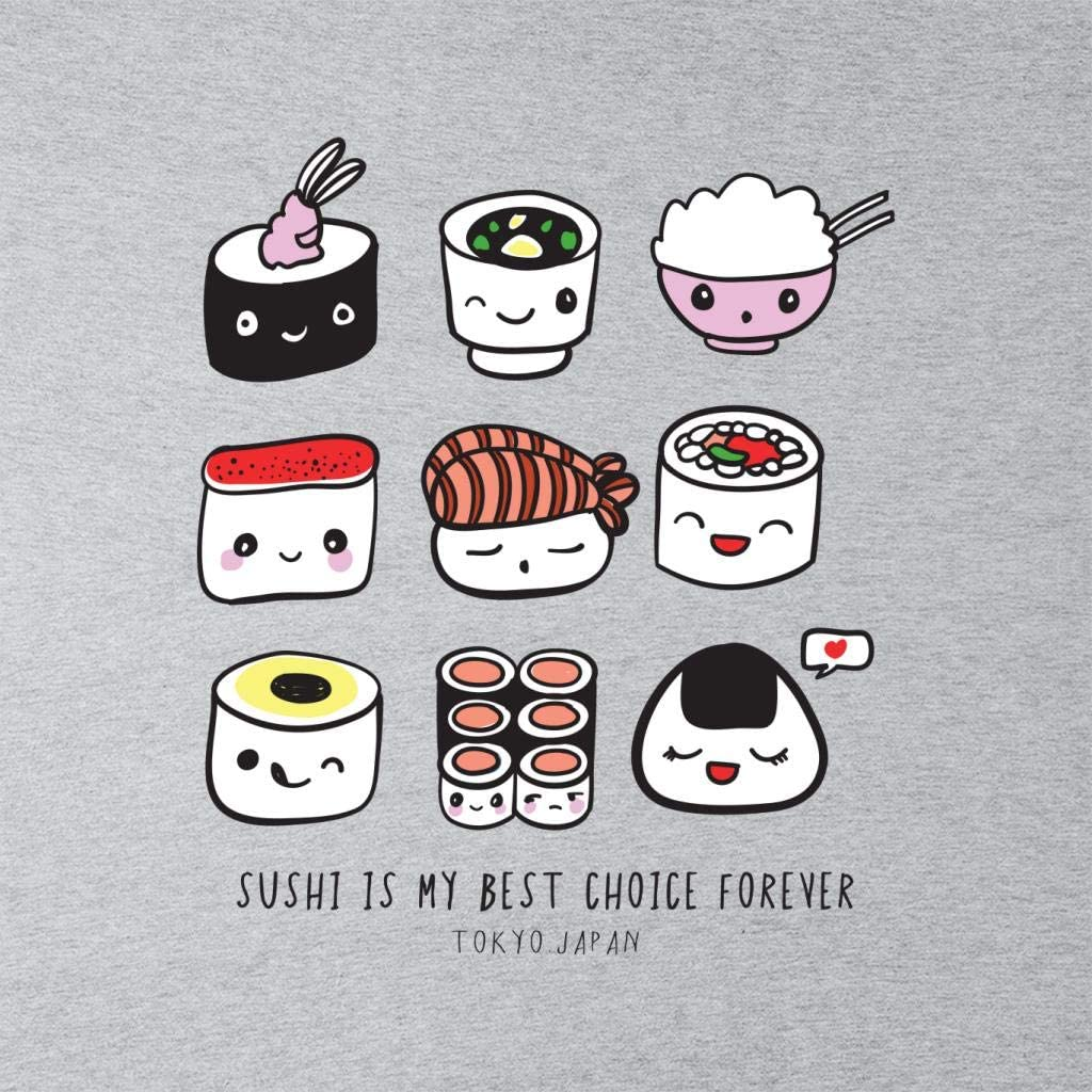 Cloud City 7 Sushi Is My Best Choice Forever Kids Hooded Sweatshirt