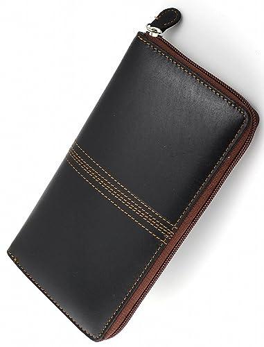 eed725c4822d Amazon.co.jp: [ D-Dickey ] 長財布 カーフ×ポニー革 カード収納40枚 ...