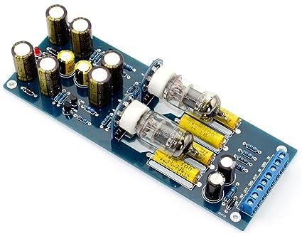 Amazon com: Audio 6J1 Valve Tube Pre-Amplifier HiFi Buffer
