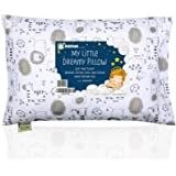 KeaBabies Toddler Pillow With Pillowcase - 13X18 Soft Organic Cotton Baby Pillows For Sleeping - Washable And…