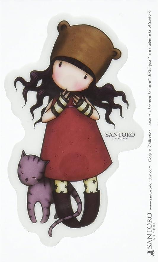 Santoro Gorjuss907GJ04DonnaArt decoVerdePeque/ño