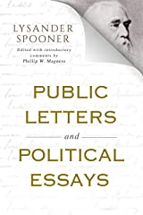 Public Letters and Political Essays Kindle Edition