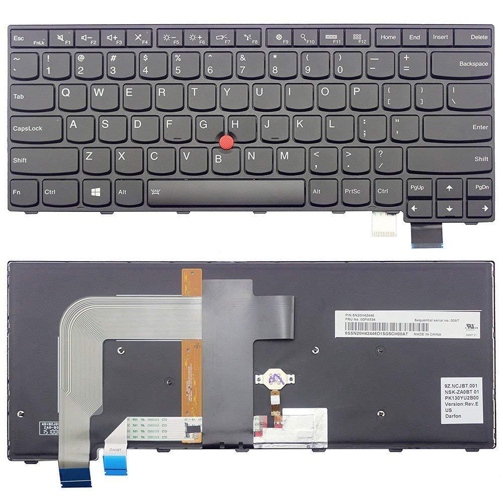 New US Black English Backlit Laptop Keyboard Compatible IBM Lenovo Thinkpad T460P T470P 00UR355 01EP427 SN20L82377 Light Backlight