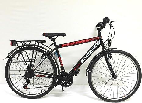 KRON - Bicicleta de Paseo de 26 Pulgadas, 21 velocidades: Amazon ...