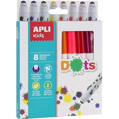 APLI Kids 16805 - Rotuladores Dots 8 Ud