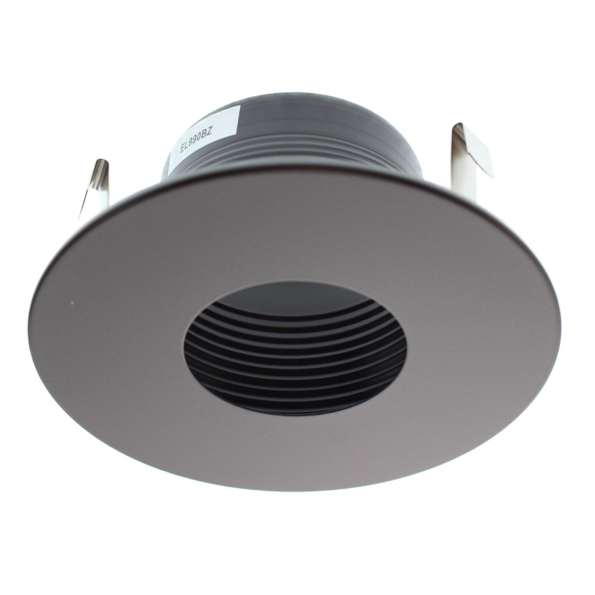 """Elco Lighting EL990BZ 4"""" Pinhole Trim with Baffle - EL990"""
