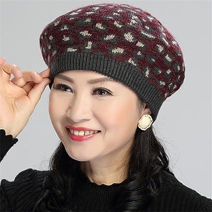 Amazon Women In Old Vintage Hat Cap Children Knitted Hat Winter