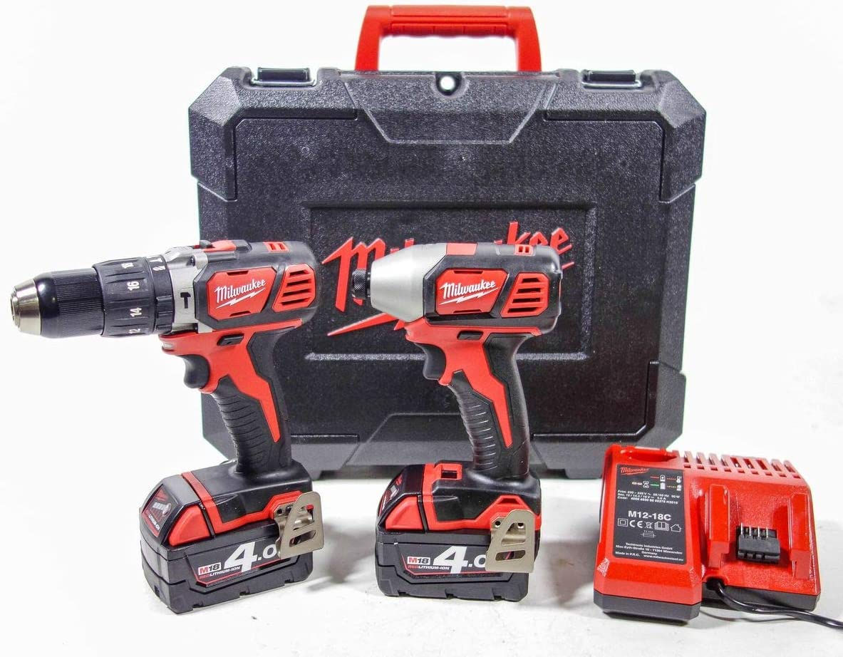 Milwaukee M18 bpp2 C-402 C Heavy-Duty, 2 Unidades