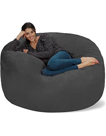 5e151b9e1673 Chill Sack Bean Bag Chair  Giant 5  Memory Foam Furniture Bean Bag - Big