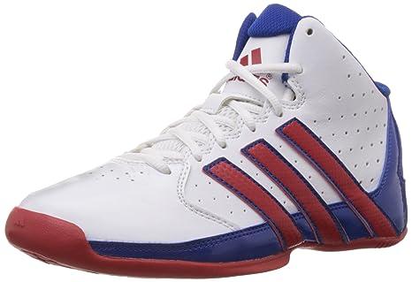 adidas Performance - Zapatillas de Baloncesto para niño weiß/Rot ...