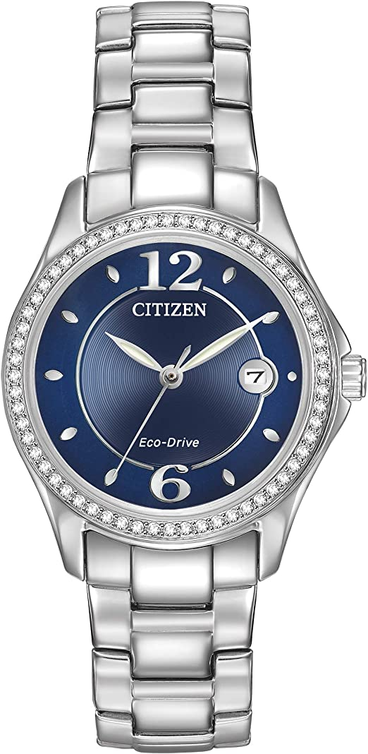 Citizen Watches Women's FE1140-86L Eco-Drive Silhouette Crystal