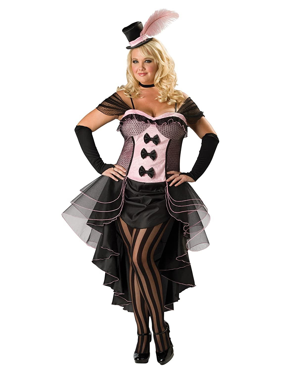 Amazon.com: Sexy Plus Size Theatre Costumes Burlesque Dancer ...