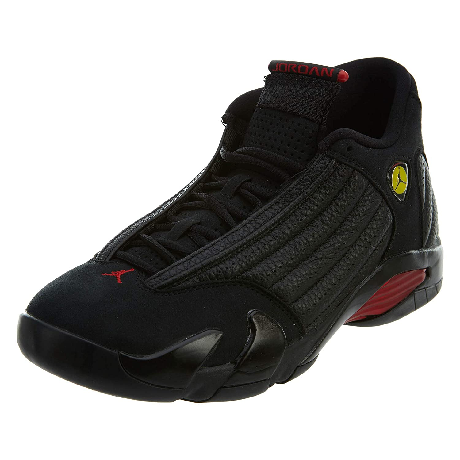 2080c8080f5 Shoes Man Sneaker AIR Jordan Last Shot in Black Leather 487471-003:  Amazon.co.uk: Shoes & Bags