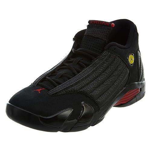 new concept 16c98 1efae Nike Air Jordan 14 Retro  Last Shot  Herren Sneaker Schwarz,  Größenauswahl 42