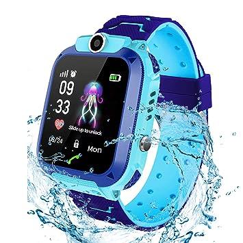 Jaybest Niños SmartWatch Phone -Niños Impermeable Smartwatch con ...