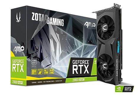 ZOTAC Gaming GeForce RTX 2060 Super AMP 8GB GDDR6 Tarjeta gráfica ...