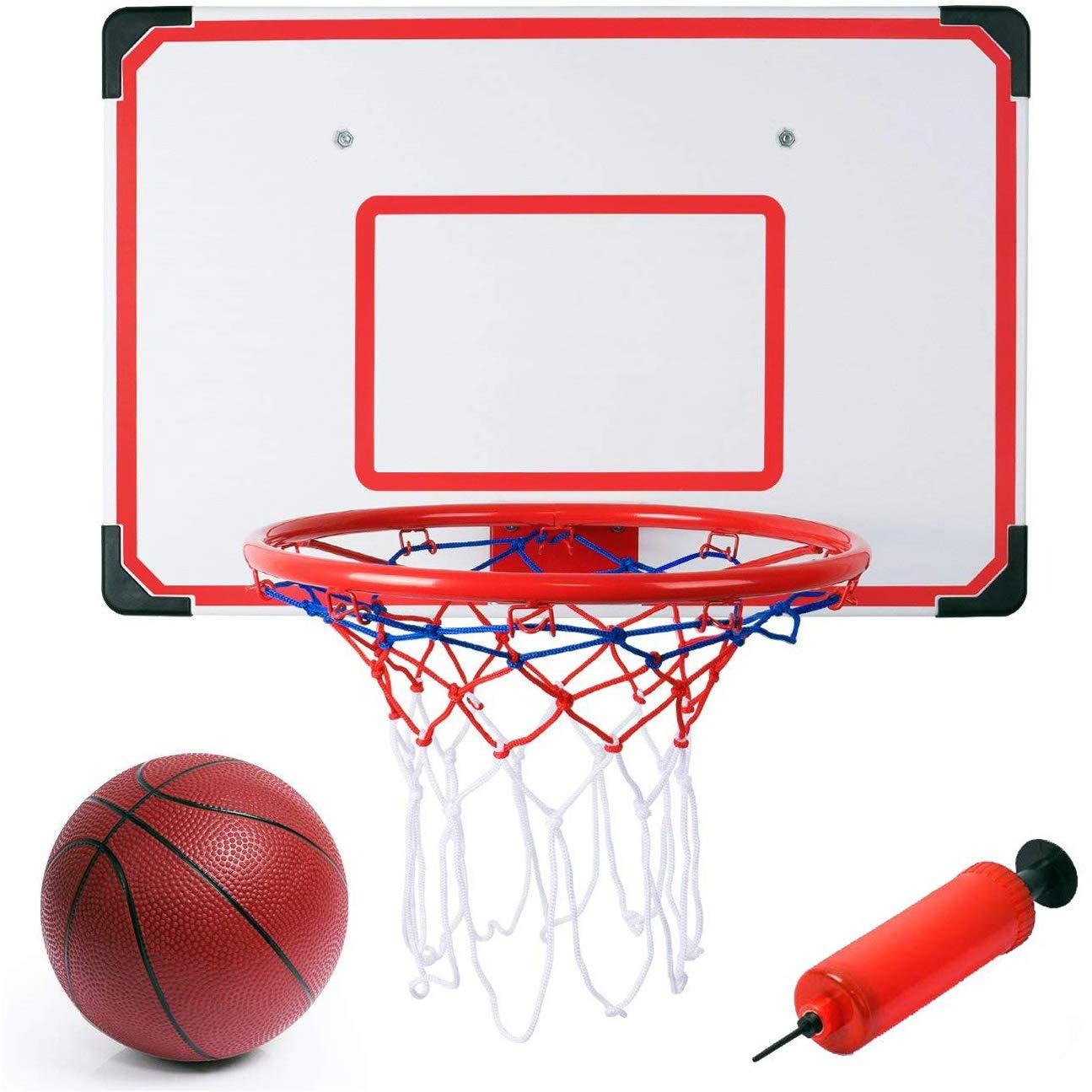"Buy Liberty Imports Indoor/Outdoor XL Big Basketball Hoop Set - 27"" X 18""  Backboard + 15"" Rim Online at Low Prices in India - Amazon.in"