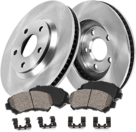 5lug 2 Brake Rotors 4 Ceramic Pads For: Grand Vitara XL-7 Front Kit