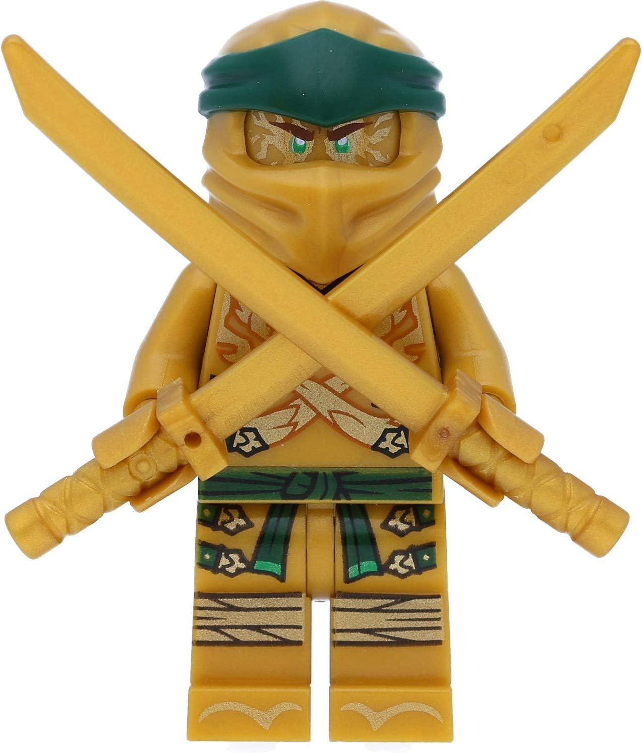 LEGO Ninjago Minifigure - Lloyd Garmadon Legacy (Gold Ninja with Sword)