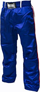 Metal Boxe - Pantalon de full contact (Blanc, 120)