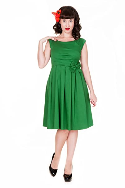 9a47ef6260c9 Lindy Bop 'Lucille' Classy 50's Vintage Style Pleated Rock n Roll Party  Dress (