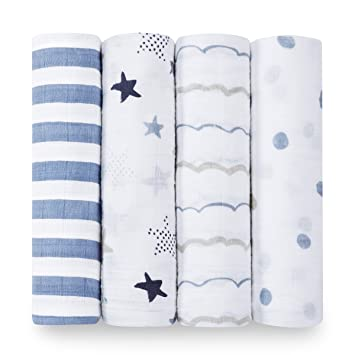 Aden And Anais Swaddle Blankets Custom Amazon Aden Anais Classic Swaddle Baby Blanket 60% Cotton
