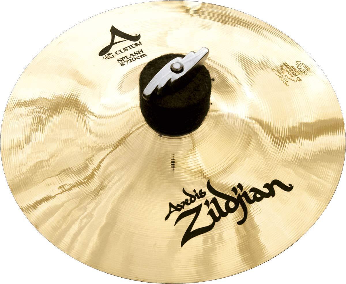 Zildjian A Custom 8'' Splash Cymbal by Avedis Zildjian Company