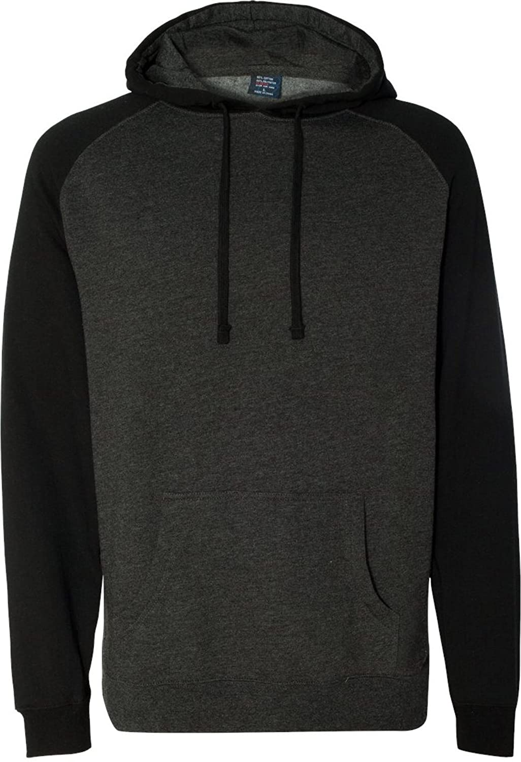 Adult Raglan Hooded Pullover