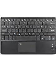 Rii BT11 (Layout Italiano) - Tastiera Bluetooth Ultra Sottile per Tablet, Smartphone, Smart TV, Mini PC, TV Box, Computer, Playstation 3