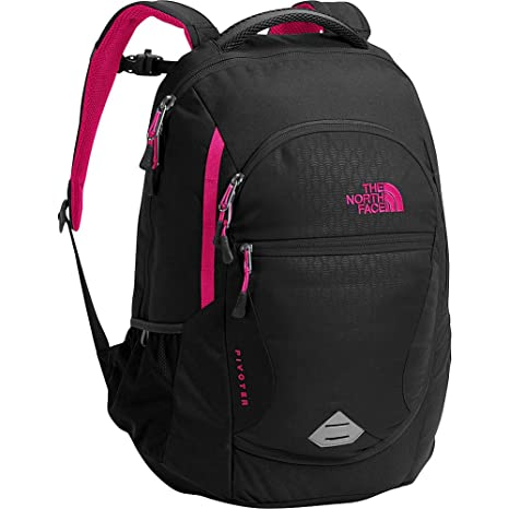 62a4221063e8 The North Face Women s Pivoter Backpack - black emboss petticoat pink