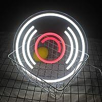 Record Neon Signs Muziek Led Neon Licht Up Muur Neon Lichten Cool Art Neon Teken Opknoping Teken Kamer Slaapkamer Muur…