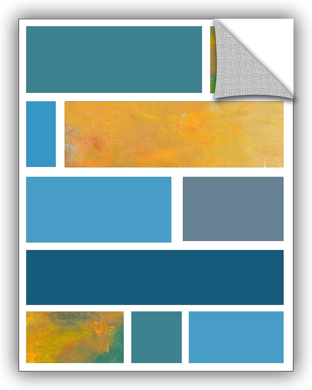 ArtWall Jan Weisss Beyond The Line 2 Removable Mural Wall Art 36 x 36