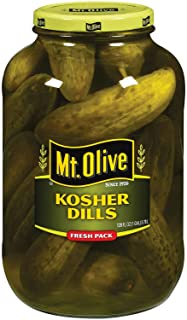 product image for Mt. Olive Kosher Dills Fresh Pack Pickles 128 fl. oz. (pack of 4) A1