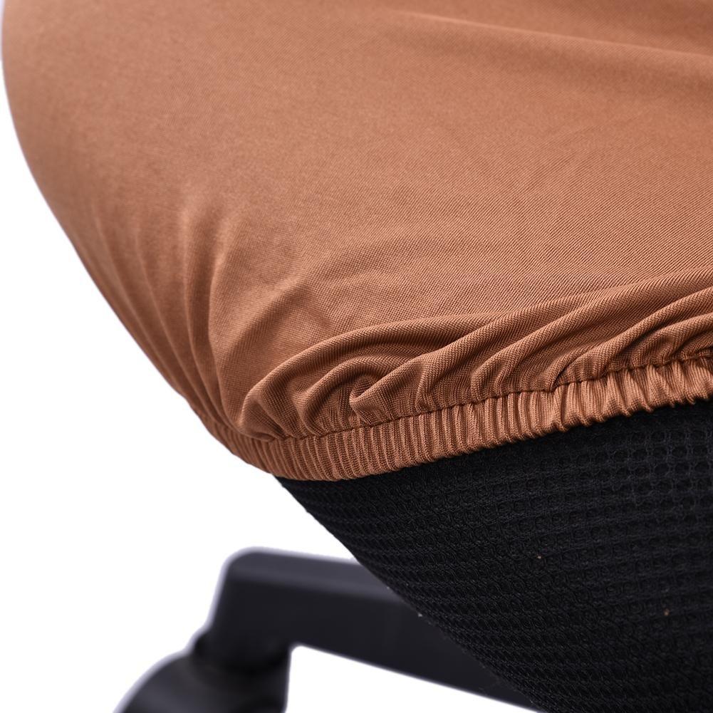 Office Computer Chair Cover Abdeckungen Abdeckung Armlehnen sitz Abdeckungen Dehnbar Rotierenden Sessel Cover Schonbezug f/ür Haus und B/üro By Seasaleshop