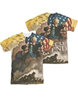 U.S. Army Vintage Poster All Over Front/Back T-Shirt