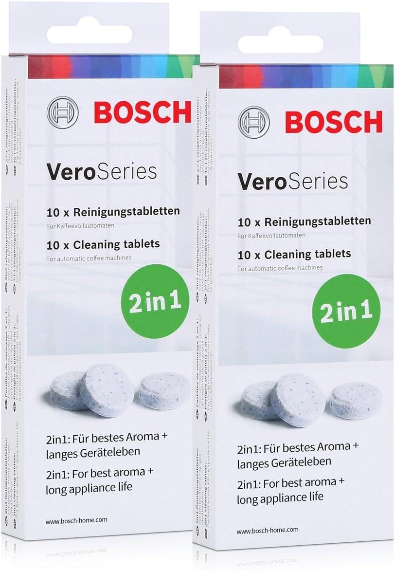 Bosch VEROS ProSeries tcz8001 pastillas de limpieza 2 en 1 – 10 ...