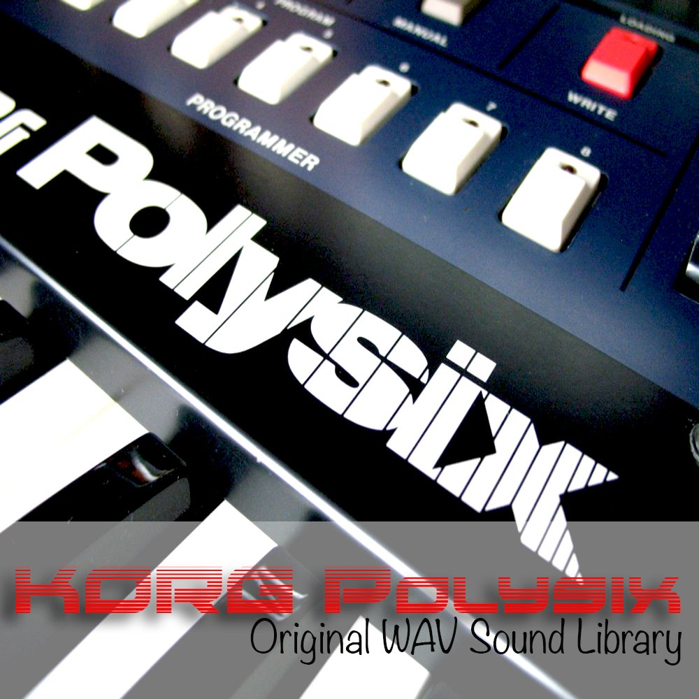 KORG POLYSIX - HUGE Original Sound Library Samples in WAVE/KONTAKT format on DVD or for download by SoundLoad